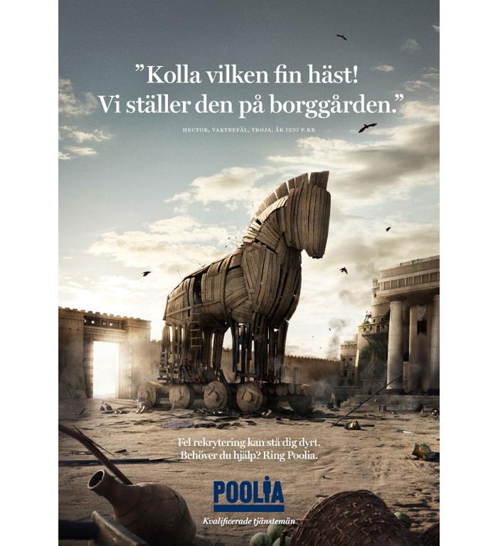 Historiska felrekryteringar: Troja