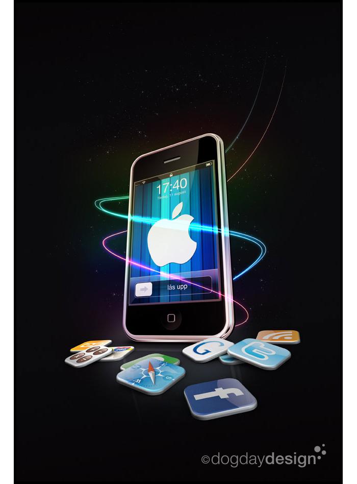 Allt om iPhone: omslagsillustrationer